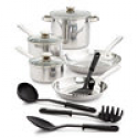 Deals List:  Tools of the Trade 6-Qt. Covered Chef's Pan