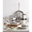 Deals List: All-Clad D5 Brushed Stainless Steel 10-Pc. Cookware Set