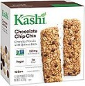 Deals List: Kashi Crunchy Chia Bar, Chocolate Chip, 5-2 Bar pouches Net WT. 7 oz