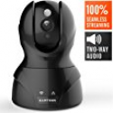 Deals List: Wireless Security Camera, HD WiFi Security Surveillance IP Camera Home Monitor with Motion Detection Two-Way Audio Night Vision,Black