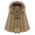 Deals List: Wide Lapel Lace up Faux Fur Sleeve Women's Overcoat
