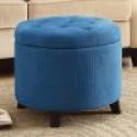 Deals List: Simpli Home Cosmopolitan Faux Leather Rectangular Storage Ottoman Bench, Brown