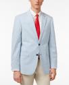 Deals List: Kenneth Cole Reaction Men's Slim-Fit Black Tonal-Stripe Suit
