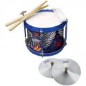 Deals List: Love Rocks Fun In A Drum - Drum, Drum Sticks, Harmonica, Tambourine, Pink, Love, Rocks, Marching Drum