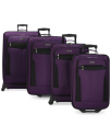 Deals List: Travel Select Allentown 4 Piece Spinner Luggage Set + Free $10 Macys Money