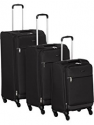 Deals List: AmazonBasics Hardside Spinner Luggage, Black , 2 piece set (20 inch/28 inch)
