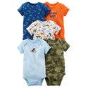 Deals List: Baby Girl 5-pk. Short Sleeve Bodysuits