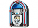 Deals List: Victrola VJB-125 Retro Desktop Jukebox with CD Player, FM Radio, Bluetooth, and Color Changing LED Lights, 15-Inch Tall