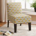 Deals List:  Allegro Side Chair Gray/Yellow Hex
