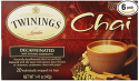 Deals List: Twinings Chai Tea, Decaf Chai Tea, 20 Count Bagged Tea (6 Pack)