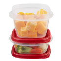 Deals List: Rubbermaid Easy Find Lids Food Storage Container, 6-Piece Set, Red (1777165)