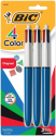 Deals List:  BIC 4-Color Ball Pen, Medium Point (1.0mm)