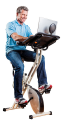 Deals List: FitDesk Desk Exercise Bike with Massage Bar