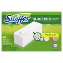 Deals List: Swiffer Sweeper Dry Sweeping Pad Refills for Floor Mop, 48 Count