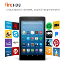 Deals List:  Fire HD 8 Tablet with Alexa 8-inch 32GB with Special Offers