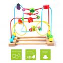 Deals List:  BATTOP Wooden Bead Roller Coaster First Bead Maze for Kids