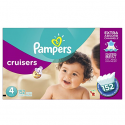 Deals List: Pampers Cruisers Disposable Diapers Size 4, 152 Count