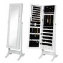 Deals List: Best Choice Products Mirrored Jewelry Cabinet Armoire W/ Stand Rings