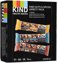 Deals List: KIND Bars, Nuts and Spices Variety Pack, Gluten Free, 1.4 Ounce Bars, 12 Count
