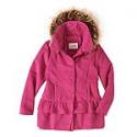 Deals List: Sebby Baby Toddler Girl Fleece Ruffle Tiered Coat with Faux Fur Hood
