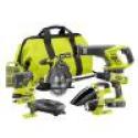 Deals List: Ryobi 18V ONE+ Li-Ion 7-pc Kit w/Batteries, Charger & Bag