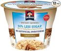 Deals List: Quaker Instant Oatmeal Express Cups 50% Less Sugar, Cinnamon Pecan, 1.41 Ounce (Pack of 12)