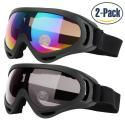 Deals List: ZIONOR X4 Ski Snowboard Snow Goggles Magnet Dual Lens