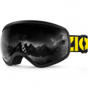 Deals List: ZIONOR X10 Ski Snowboard Snow Goggles OTG for Men Women Youth Anti-fog UV Protection Helmet Compatible