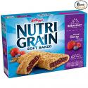 Deals List: Kellogg's Nutri-Grain Cereal Bars (Mixed Berry, 8-Count Bars, 1.3 oz, Pack of 6)