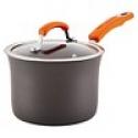 Deals List: Rachel Ray Hard Anodized 3 qt Covered Saucepan w/Handles