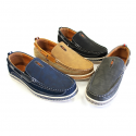 Deals List: Nautical-Inspired Casual Genuine Leather Slip-On Mens Loafers