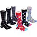 Deals List: Marino Mens Dress Socks - Fun Colorful Socks for Men - Cotton Funky Socks - 6 Pack