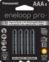 Deals List: Panasonic BK-4HCCA4BA eneloop pro AAA High Capacity Ni-MH Pre-Charged Rechargeable Batteries, 4 Pack