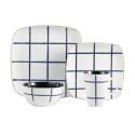 Deals List: American Atelier Squares 16 Piece Dinnerware Set, Blue