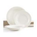 Deals List:  Gibson White Elements Hampton Square 42-Piece Set Service for 6