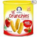 Deals List: Gerber Graduates Lil' Crunchies, Garden Tomato, 1.48-Ounce Canisters (Pack of 6)