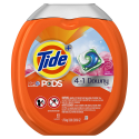 Deals List: Tide PODS Plus Downy 4 in 1 HE Turbo Laundry Detergent Pacs, April Fresh Scent, 61 Count Tub