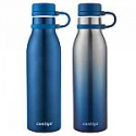 Deals List: Contigo Thermalock Stainless Steel 20 oz Water Bottle, 2-pk, in blue or black