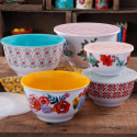 Deals List: The Pioneer Woman Country Garden Mixing Bowl Set 10-Pc