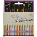 Deals List: Angelflames Birthday Candles with Colored Flames (12 per box, holders included) (12, Medium)