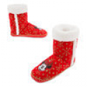 Deals List:  Mickey and Minnie Mouse Holiday Boot Slippers for Women