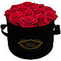 Deals List: Everlasting Roses in Hat Box (Red or White Roses)