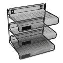 Deals List: Rolodex Mesh Collection 3-Tier Desk Shelf, Letter-Size, Black (22341)
