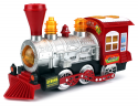 Deals List: Steam Train Locomotive Engine Car Bubble Blowing Bump & Go Battery Operated Toy Train w/ Lights & Sounds