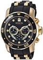 Deals List: Invicta Men's 6981 Pro Diver Analog Swiss Chronograph Black Polyurethane Watch