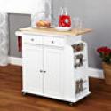 Deals List:  Sonoma Wood-Top Kitchen Cart