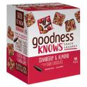 Deals List: goodnessKNOWS Cranberry, Almond & Dark Chocolate Gluten Free Snack Square Bars 18-Count Box