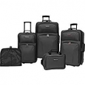 Deals List: Travelers Choice Versatile 5-Piece Luggage Set