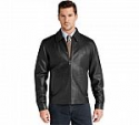 Deals List: Signature Collection Traditional Fit Leather Jacket
