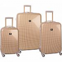 Deals List: Anne Klein Luggage Manchester 3 Piece Hardside Set Luggage Set